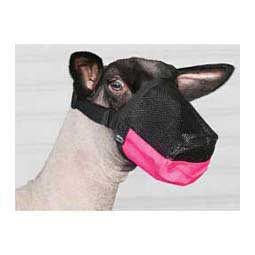 Deluxe Adjustable Goat/Sheep Muzzle Weaver Livestock